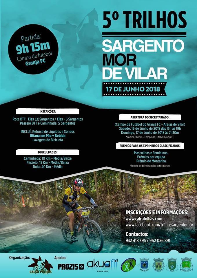 d4d4d0ed7ae un événement - 5º Trilhos BTT Sargento-Mor De Vilar